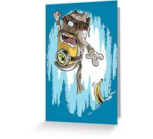Frozen Banana Greeting Card