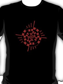 Mandala 1 Colour Me Red T-Shirt