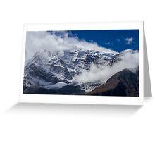 The Peak of Annapurna II, Nepal Greeting Card