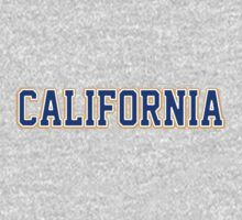 California Jersey Font Blue by USAswagg