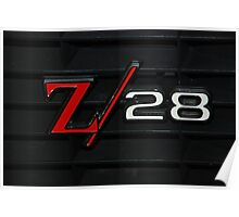 69 Z28 none as the ZAPPER Poster