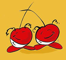 The Cherry Twins by Tracey-Anne Pryke