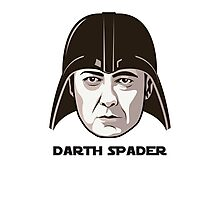"James Spader is ""DARTH SPADER"" Photographic Print"