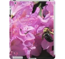 a bee's work iPad Case/Skin