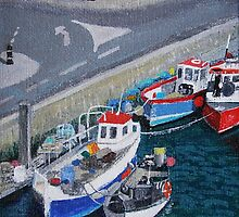 Weymouth Harbour #1 by Antony R James