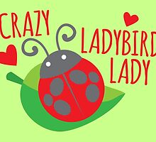 Crazy Ladybird lady by jazzydevil
