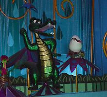 Disney Small World Disney Alligator Disney Crocodile  by notheothereye