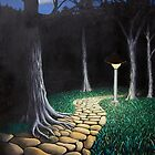 cobblestone path by redtreefactory
