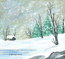 Christmas Snow by Ginger Lovellette