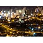 24 Hour Machine - Port Talbot at Night by SimplyMrHill