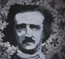 Edgar Allen Poe Lace by Megan-Mayhem