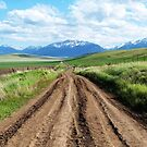 Another Road Less Traveled - Wallowa County, OR by Rebel Kreklow