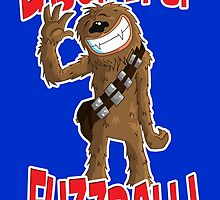 "Star wars Chewbacca ""Laugh it up Fuzzball"" by joseph keen"