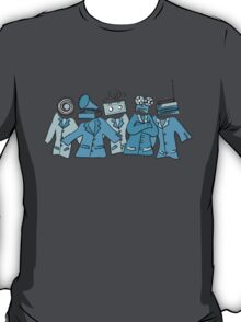 Analog Soldiers (blue) T-Shirt