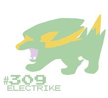 ELECTRIKE! POKEMON by Caroline Finnerty