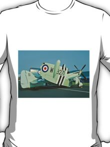 Fairey Firefly AS.5 WB271/R folded T-Shirt