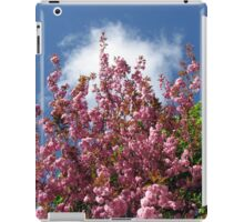 Blue Sky and Pink Blossoms iPad Case/Skin