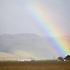 Old Barn Rainbow by Cathy L. Gregg