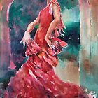 Flamenco Dancer - Dance Art Gallery 9 by Ballet Dance-Artist