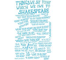 Things We Say... Photographic Print