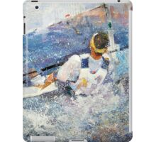 Sailing - Leading The Race - Boats Art Gallery iPad Case/Skin