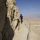 On Masada snake path by Moshe Cohen