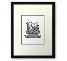 Zero Nightmare Before Snoopy Framed Print