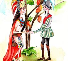 2-Hernan Cortes arrives in Mexico by IsabelSalvador