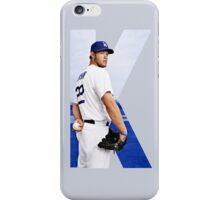 """Beink """"K is for Kershaw""""  iPhone Case/Skin"""