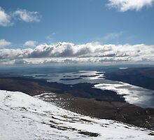 Loch Lomond from Ben Lomond by Andrew Ness - www.nessphotography.com