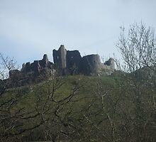 Carreg cennen castle by Ffion Rees