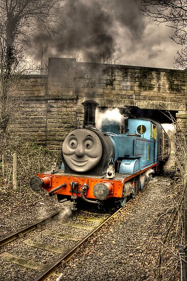 Thomas The Tank engine by Dave Warren
