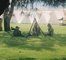 campsite by cometkatt