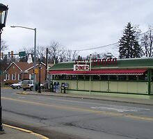 Wellsboro (Trolley Car) Diner - Wellsboro PA by RLHall
