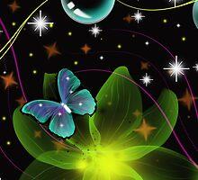 Frolicking Butterfly by Mechala Matthews
