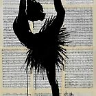 demi pointe by Loui  Jover