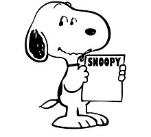 The Adventure Snoopy New Photographic Print