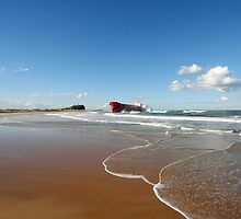 Pasha Bulker, Nobbys Beach NSW June 07 by sashawood