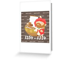 Marco Polo Greeting Card