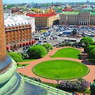 St. Isaac's Square from the Cathedral's Colonnade by M-EK
