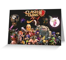 Clash of Clan - Assemble Greeting Card