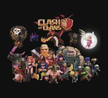 Clash of Clan - Assemble by DelKarpan