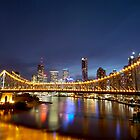 Sunset Over Story Bridge by SightUnseen