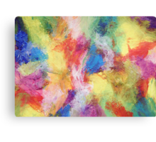 """""""In a Dream No.5"""" original abstract artwork by Laura Tozer Canvas Print"""