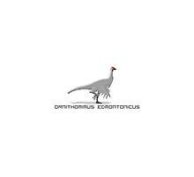 Pixel Ornithomimus by David Orr