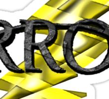 Tv Series Arrow and Flash cross-over 2 Sticker