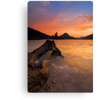 Eroded Away Canvas Print