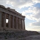 The Parthenon at Dawn by Calysar