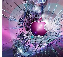 BROKEN IPHONE SCREEN by isotopi