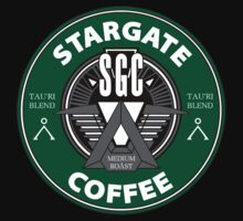 Stargate Coffee Tau'ri by Michael Bourgeois